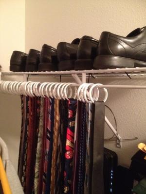 For the man closet!