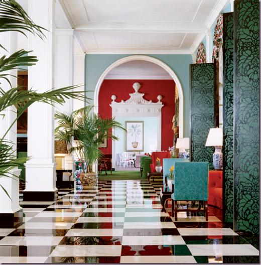 checkered greenbriarhotel